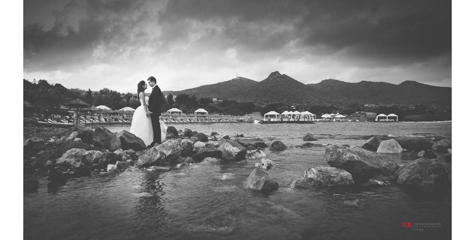 Φωτογράφιση γάμου στο Σούνιο
